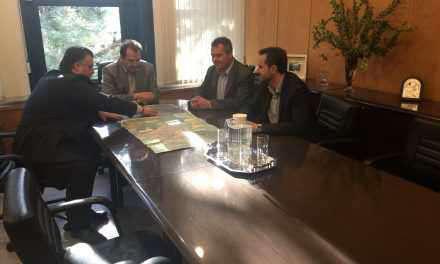 Συνάντηση του Δημάρχου Μεσολογγίου με τον Γεν. Γραμματέα του Υπ. Υποδομών για την αντιπλημμυρική θωράκιση του Δήμου