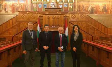 Επίσκεψη του Γρηγόρη Αλεξόπουλου και μελών του Περιφερειακού Συμβουλίου Δυτικής Ελλάδος στο Κοινοβούλιο της Ουγγαρίας