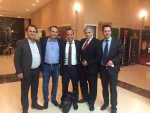 Υπερκινητικός και δραστήριος στη Θεσσαλονίκη ο Θ.Παπαθανάσης