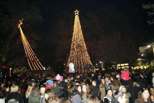 Χριστουγεννιάτικο Χωριό στη Ναύπακτο