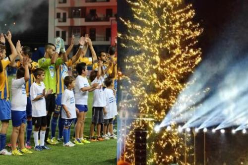 Σήμερα θα φωταγωγηθεί  το Χριστουγεννιάτικο Δένδρο  της πλατείας Παναιτωλικού