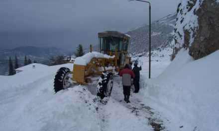 35 σχολεία κλειστά στην Αμφιλοχία λόγω χιονιά!