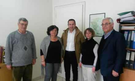 Συνάντηση του Αντιπεριφερειάρχη Αγροτικής Ανάπτυξης με στελέχη του ΕΛΓΑ για τις αποζημιώσεις της παραγωγής