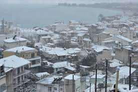 Πυκνή  χιονόπτωση στη Ναύπακτο-αγνοείται ηλικιωμένος!