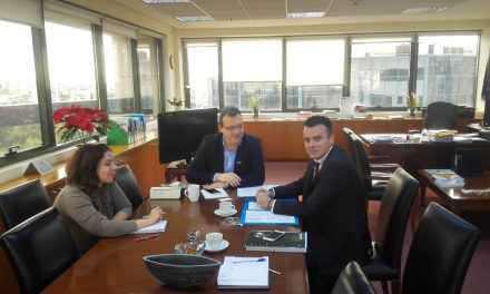 Συνάντηση του Αντιπεριφερειάρχη Ενέργειας και Περιβάλλοντος Ν. Μπαλαμπάνη με τον αναπλ. Υπουργό Σ. Φάμελλο