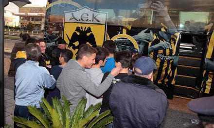 Χωρίς οπαδούς η ΑΕΚ στο Αγρίνιο
