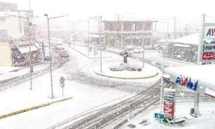 Υδροδοτήθηκε το χιονισμένο Καινούργιο!