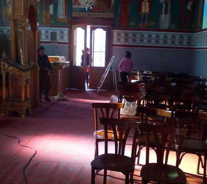 Προετοιμασίες εν όψει της εορτής του Αγίου Αντωνίου στα Φραγκουλέϊκα