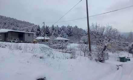 «Πνιγμένο» στο χιόνι το Λιβαδάκι- ποια χωριά είναι αποκλεισμένα και που χρειάζονται αλυσίδες