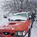 Προβλήματα από τον χιονιά – Αποκλεισμένα χωριά στην Ορεινή Ναυπακτία!
