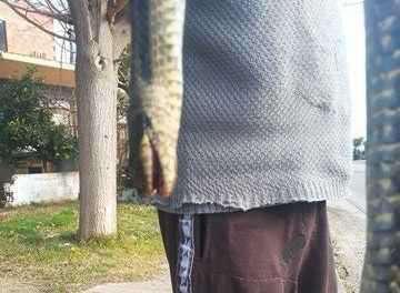Αιτ/νία: Tεράστιο φίδι στα σκαλιά του σπιτιού του!