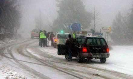 Προσοχή-κατολίσθηση στην επαρχιακή οδό Παλαιοπύργου-Πλατάνου
