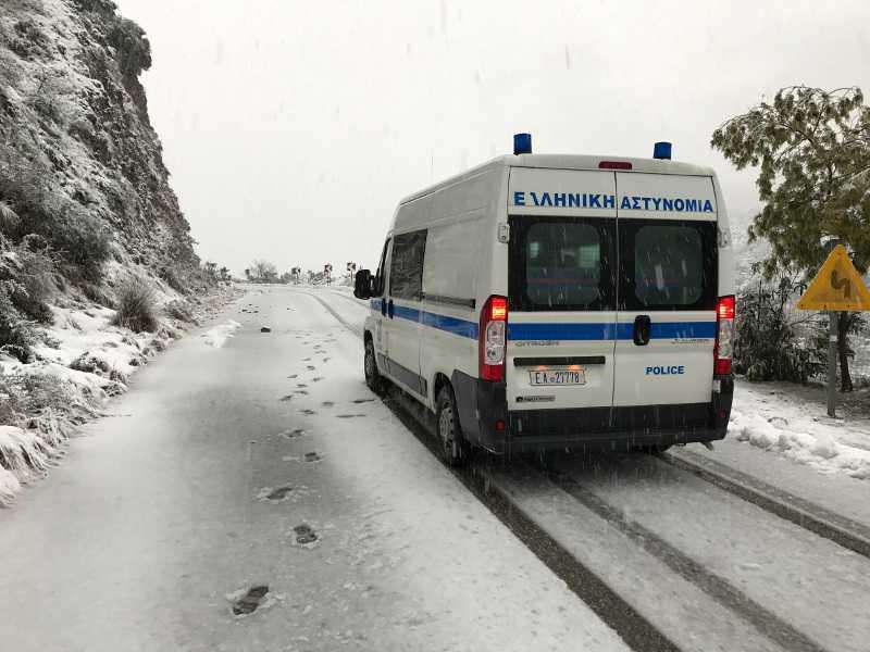 Οι Κινητές Αστυνομικές Μονάδες δίπλα στους πολίτες χιονισμένων ορεινών περιοχών της Δυτικής Ελλάδα(ΒΙΝΤΕΟ)