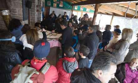 Στο όρος Αράκυνθος η κοπή πίτας του ορειβατικού συλλόγου  Αγρινίου
