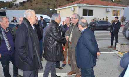 Ο Υπουργός Εσωτερικών κ. Παν. Σκουρλετης  επισκέφθηκε και τον ΧΥΤΑ στην ΒΛΑΧΟΜΑΝΔΡΑ