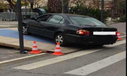 Αγρίνιο: Ωραίο παρκάρισμα!!