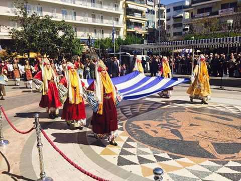 Το Αγρίνιο γιορτάζει την 25η Μαρτίου