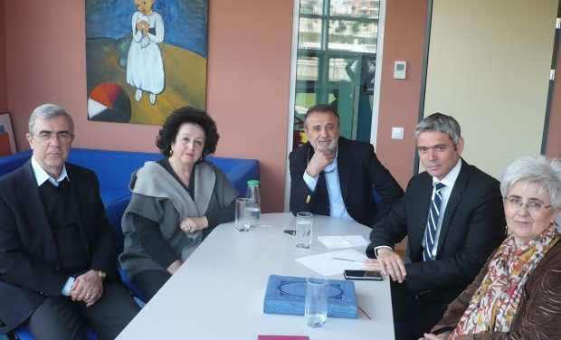 Επίσκεψη Κ. Καραγκούνη στο νέο κτίριο της ΕΛΕΠΑΠ Αγρινίου.