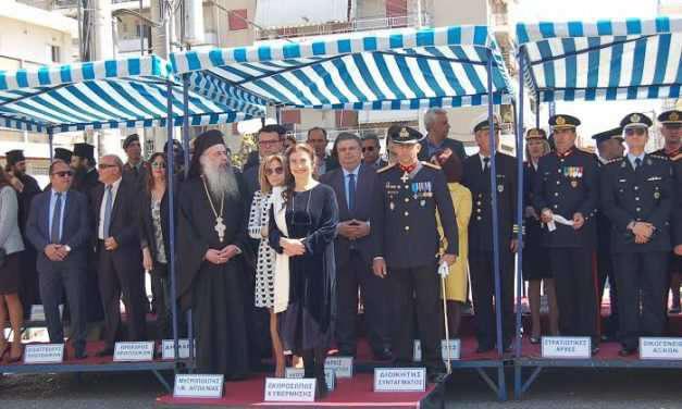 Μεσολόγγι: Εορτασμός της 25ης Μαρτίου παρουσία της Υπουργού Πολιτισμού Λ. Κονιόρδου.