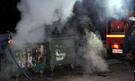 Αγρίνιο: Aναστάτωση από νέα φωτιά σε κάδο!