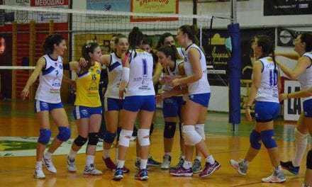 Αγώνας Volley Ιωνικός-Ε.Α.Λαρισας γυναικών.