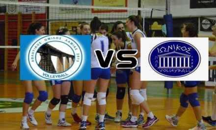 Το Γυναικείο Τμήμα Volley του Π.Α.Σ. ΙΩΝΙΚΟΣ΄80 στη Λαμία