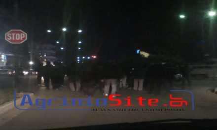 Πορεία  διαμαρτυρίας από μέλη του αυτοδιαχειριζόμενου χώρου του Αγρινίου(ΦΩΤΟ)-Ισχυρή η παρουσία της αστυνομίας!