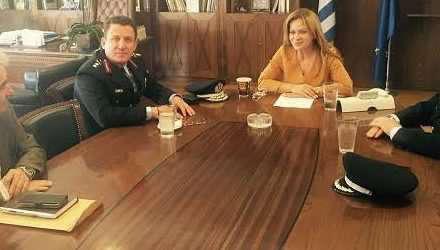 Συνάντηση Σταρακά με τον Γεν. Περιφερειακό Αστυνομικό Διευθυντή Δυτ. Ελλάδας