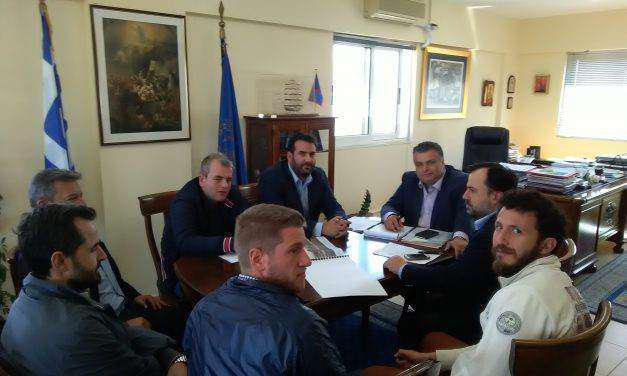 Συνάντηση του Δημάρχου Μεσολογγίου με τον Πρόεδρο και μέλη του ΤΕΕ Αιτωλ/νίας