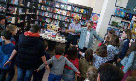 Ο αγαπημένος συγγραφέας των παιδιών Βαγγέλης Ηλιόπουλος στο ¨ΒΙΒΛΙΟΤΡΟΠΙΟ» (φωτο)