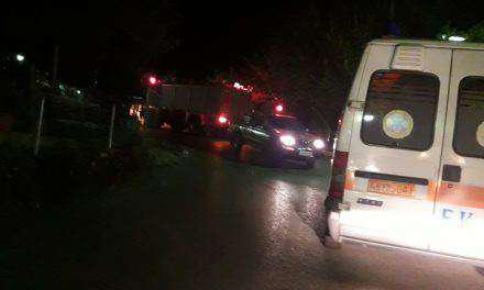 Σκουτερά :Τηλεφώνημα για όχημα που έπεσε σε γκρεμό-Μεγάλη επιχείρηση της Αστυνομίας και της Πυροσβεστικής(βίντεο)