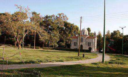 Φθορές και κλοπή στο εκκλησάκι στο Πάρκο Αγρινίου