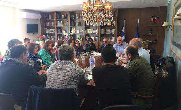Σύσκεψη για τη μεταφορά μαθητών των Ειδικών Σχολείων της Π.Ε. Αιτωλοακαρνανίας