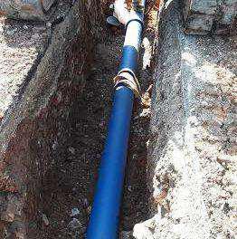 Ολοκληρώθηκε ο κεντρικός αγωγός ύδρευσης της Μακρυνείας.