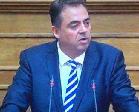 Ερώτηση Δ.Κωνσταντόπουλου για φορολογικές και ασφαλιστικές διευκολύνσεις πολιτών Μεσολογγίου-Ναυπάτου