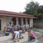 Σε ένα μικρό επίγειο παράδεισο μετατράπηκε το  δημοτικό σχολείο Κυπαρίσσου!