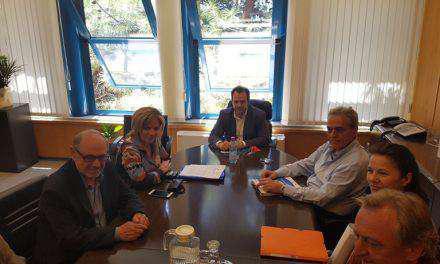 Σύσκεψη στο Υπουργείο Υποδομών για ΚΛΕΠΑ – ΠΕΡΙΣΤΑ