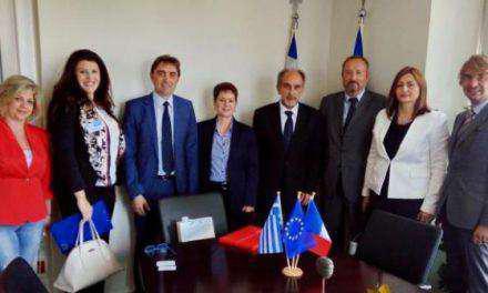 Συνάντηση  Περιφερειάρχη με τον Πρέσβη της Γαλλίας C. Chantepy