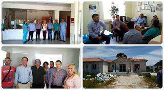 Επίσκεψη του Υποδιοικητή της 6ης Υ.ΠΕ.  Μ. Ζαμπάρα, στα Κ.Υ Αστακού και Μύτικα. (φωτο)
