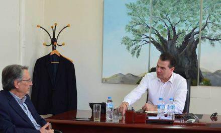 Επίσκεψη  Αντώνογλου στην Ένωση Αγρινίου