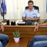 Συνάντηση Εμποροβιομηχανικού Συλλόγου Μεσολογγίου και Αστυνομικού Διευθυντή Αιτωλίας